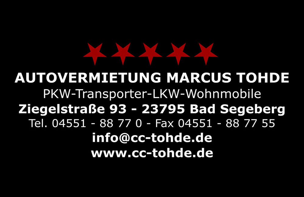 Autovermietung Marcus Tohde